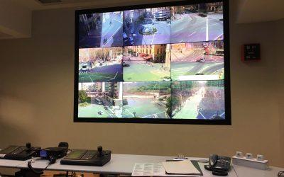 VideoWall Policia de Pamplona