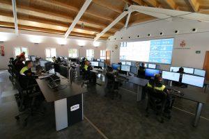 CISE Centro de Control de la Policia Local de Valencia